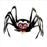 Spinnenschwarzes vektor abbildung