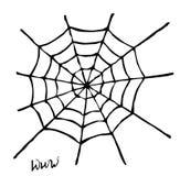 Spinnenweb Lizenzfreie Abbildung