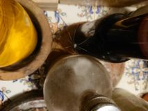 Spinnenwein lizenzfreie stockbilder