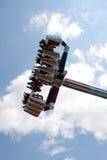 Spinner bij funfair royalty-vrije stock afbeelding