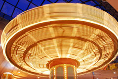 Spinner in funfair Royalty Free Stock Photography