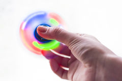 Spinner, glowing circle Royalty Free Stock Photography