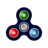 Spinner isolated on white background Stock Photo