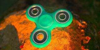 Spinner royalty free stock photos