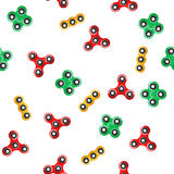 Spinner seamless pattern. Royalty Free Stock Photos