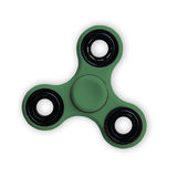 Spinner stress relieving toy isolated on on white. Stock Photos