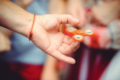 Spinner ter beschikking Stock Foto