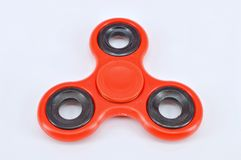 Spinner on white background Royalty Free Stock Photography