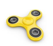 Spinner of yellow color Stock Photos