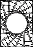 spinnewebnota Royalty-vrije Stock Foto