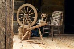 Spinnewiel Stock Foto's