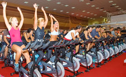 Free Spinning At Welness Show Royalty Free Stock Images - 22150929