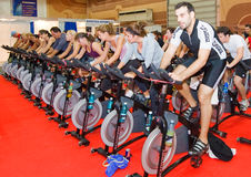 Free Spinning At Welness Show Stock Photography - 23349242
