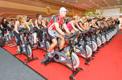 Free Spinning At Welness Show Royalty Free Stock Image - 23349276