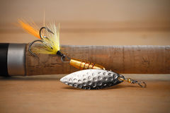 Spinning bait Royalty Free Stock Image