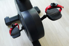 Spinning bicycles at studio. Spinning bicycles at fitness studio Stock Photography
