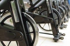 Spinning bikes Royalty Free Stock Photos