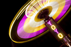 Spinning Carnival Ride Royalty Free Stock Photo