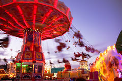 Spinning chairoplane Royalty Free Stock Photography