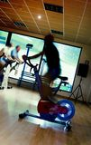 Spinning class Royalty Free Stock Image