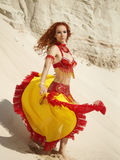 Spinning dancer Royalty Free Stock Photo