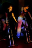 The spinning exercise Stock Image