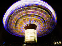 Spinning fairground ride Royalty Free Stock Photos