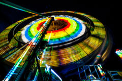 Spinning Farris Wheel Royalty Free Stock Photos