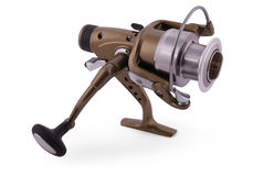 Spinning for fishing (Clipping path) Royalty Free Stock Images