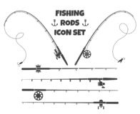 Free Spinning Fishing Rod Stock Photography - 168489562
