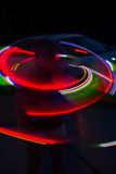 Spinning light show Royalty Free Stock Images