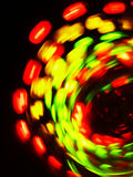 Spinning Lights Stock Photography
