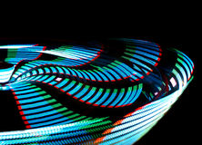 Spinning Lights Royalty Free Stock Photos