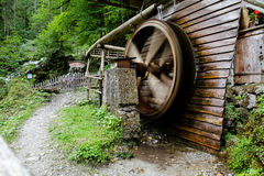 Spinning Mill Wheel Stock Image