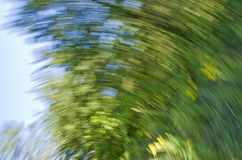 Spinning nature blur Royalty Free Stock Image