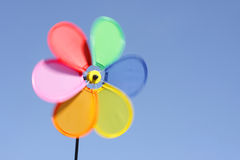Spinning pinwheel toy Stock Photography