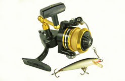 Spinning Reel Royalty Free Stock Image