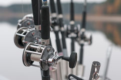 Spinning Reels Royalty Free Stock Image