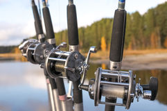 Spinning Reels Stock Images