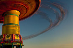 Spinning Ride at the County Fair Royalty Free Stock Images