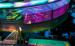 Spinning ride at the fair Stock Image