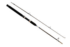 Spinning rod Royalty Free Stock Image
