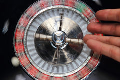 Spinning roulette Royalty Free Stock Photography