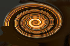 Spinning spiral Stock Image