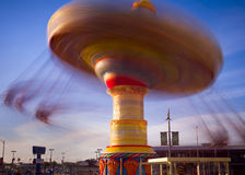 Spinning Top Amusment Ride Royalty Free Stock Photos