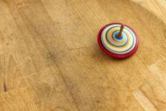 Spinning top. A wooden spinning-top in action Stock Photography