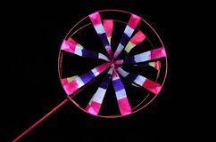 Spinning Toy Wheel Black background
