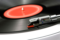 Spinning Turntable Royalty Free Stock Image