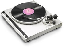 Spinning turntable Stock Photography