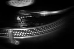 Spinning Turntable Royalty Free Stock Images